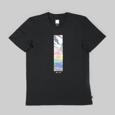 ADIDAS LONGING SS TEE BLACK MULTI COLOUR