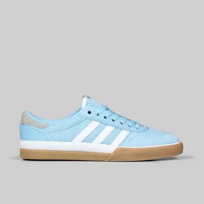 ADIDAS LUCAS PREMIER CLEAR BLUE FOOTWEAR WHITE