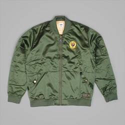 ADIDAS MA1 JACKET NIGHT CARGO TACTILE GOLD