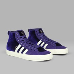 ADIDAS MATCHCOURT HIGH RX 'NAK' PURPLE WHITE GOLD