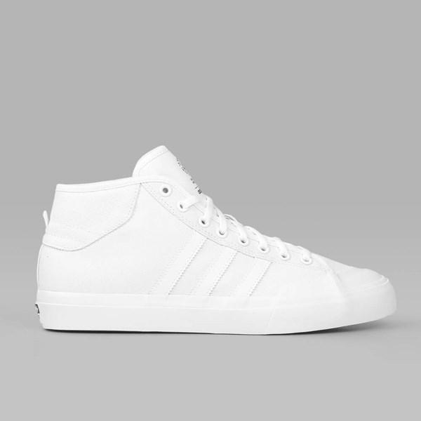 d5fa89783b86 ADIDAS MATCHCOURT MID WHITE WHITE WHITE