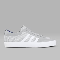 ADIDAS MATCHCOURT PRIMEKNIT GREY TWO WHITE GUM