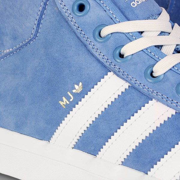 ADIDAS MATCHCOURT X MARC JOHNSON LIGHT BLUE WHITE