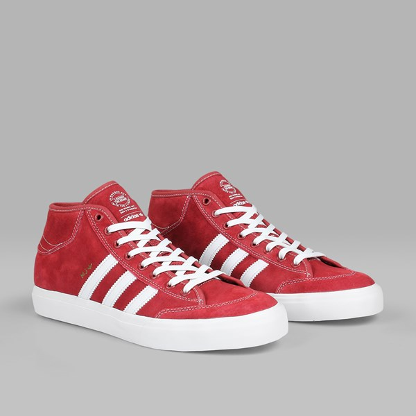 ADIDAS MATCHCOURT X MARC JOHNSON MYSTERY RED