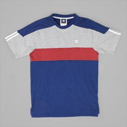 ADIDAS NAUTICAL TOP MYSTERY BLUE RED