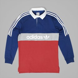 ADIDAS RUGBY NAUTICAL MYSTERY RED BLUE