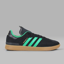 ADIDAS SAMBA ADV CORE BLACK GREEN GUM