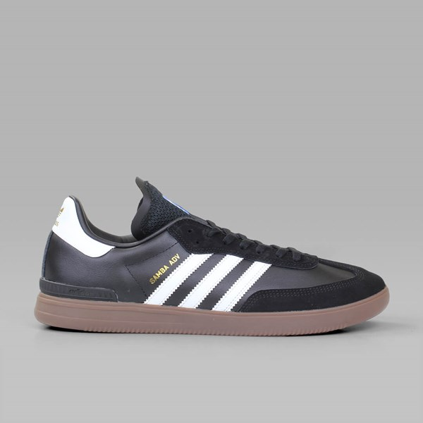 3d82769983769 ADIDAS SAMBA ADV CORE BLACK WHITE GUM | Adidas ...