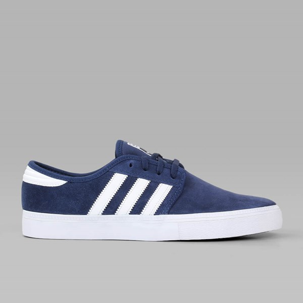 ADIDAS SEELEY ADV COLLEGIATE NAVY CRYSTAL WHITE