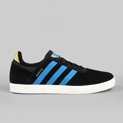 ADIDAS SKATE BUSENITZ ADV TRAINER BLACK/SOLAR BLUE/METALLIC GOLD