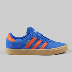 ADIDAS SKATE BUSENITZ VULC TRAINER BLUEBIRD/FOX ORANGE/GUM