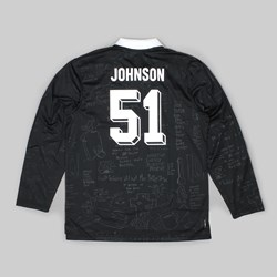 ADIDAS SKATE COPA JOHNSON JERSEY BLACK WHITE