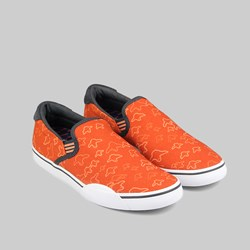 ADIDAS SKATE GONZ SLIP ON TRAINER FOX RED/FOX ORANGE/SOLID GREY