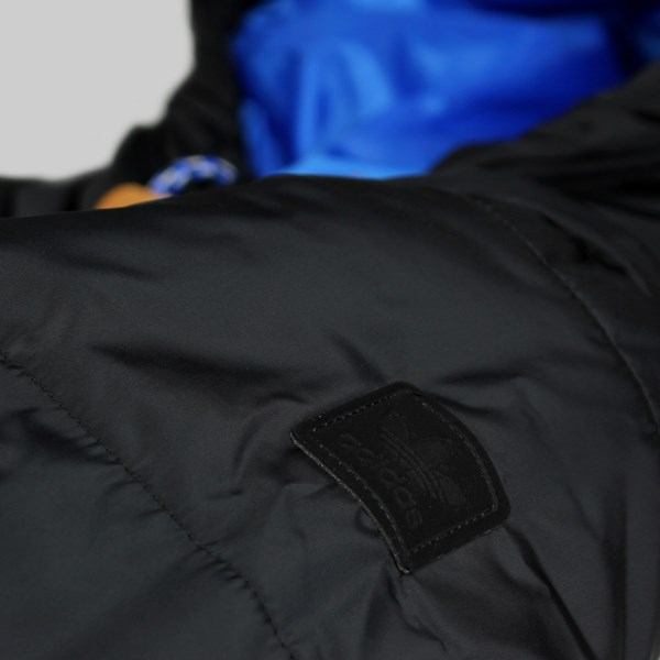 ADIDAS SKATE LONG SLEEVE PADDED JACKET BLACK