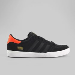 ADIDAS SKATE LUCAS TRAINER BLACK/BLACK/SEMI SOLAR RED