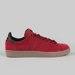 ADIDAS SKATE STAN SMITH VULC TRAINER CARDINAL/BLACK/GUM