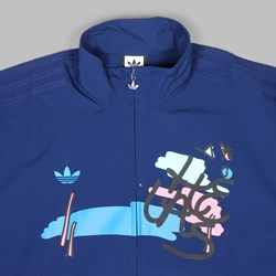 ADIDAS SKATEBOARDING X HELAS JACKET DARK BLUE