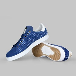 ADIDAS STAN SMITH VULC BLUE WHITE GOLD