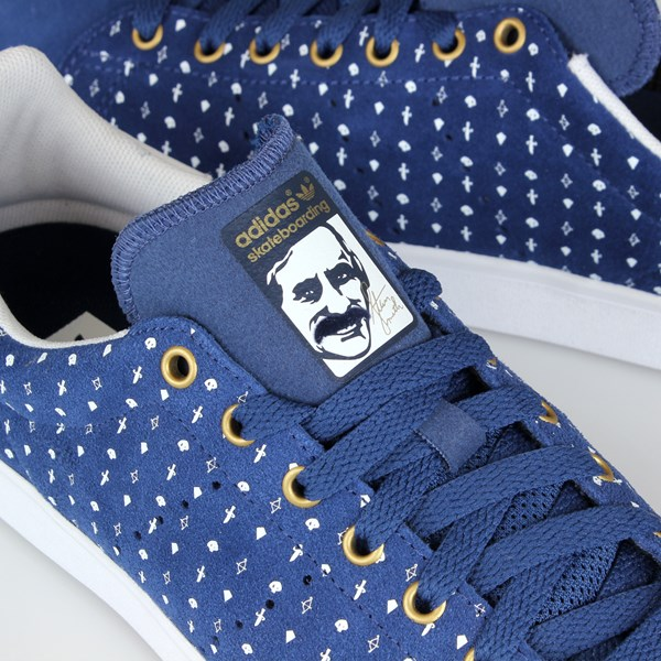 competitive price 1bf9f ae995 ADIDAS STAN SMITH VULC BLUE WHITE GOLD | Adidas ...