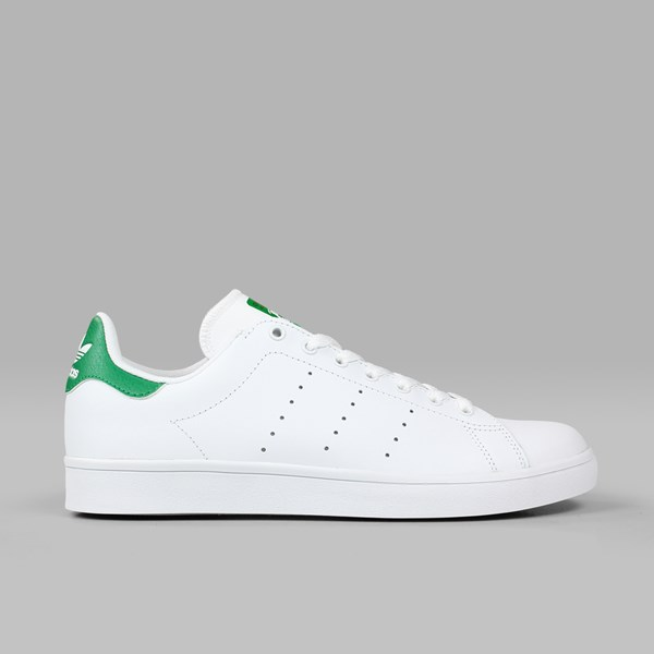 los angeles cb732 61e88 ADIDAS STAN SMITH VULC FOOTWEAR WHITE GREEN ...
