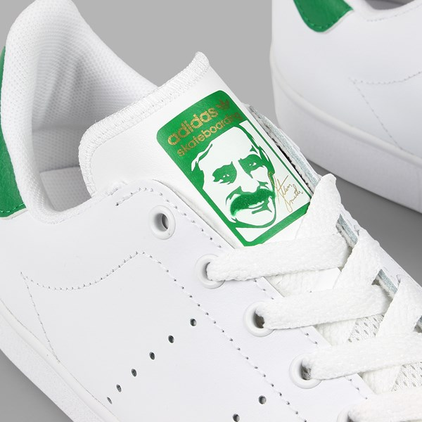 ADIDAS STAN SMITH VULC FOOTWEAR WHITE GREEN