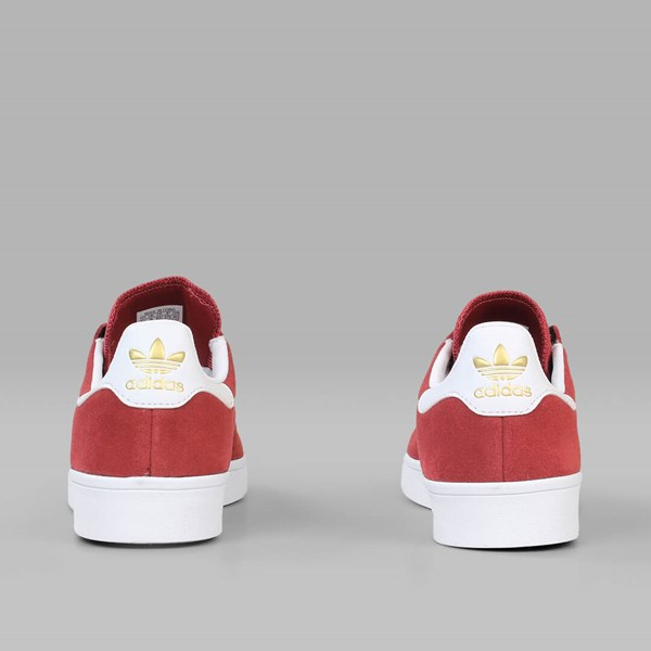 ADIDAS STAN SMITH VULC MYSTERY RED WHITE