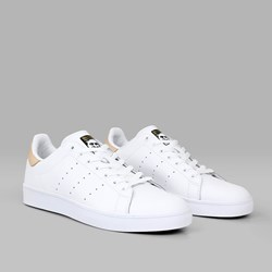 ADIDAS STAN SMITH VULC WHITE PALE NUDE GOLD