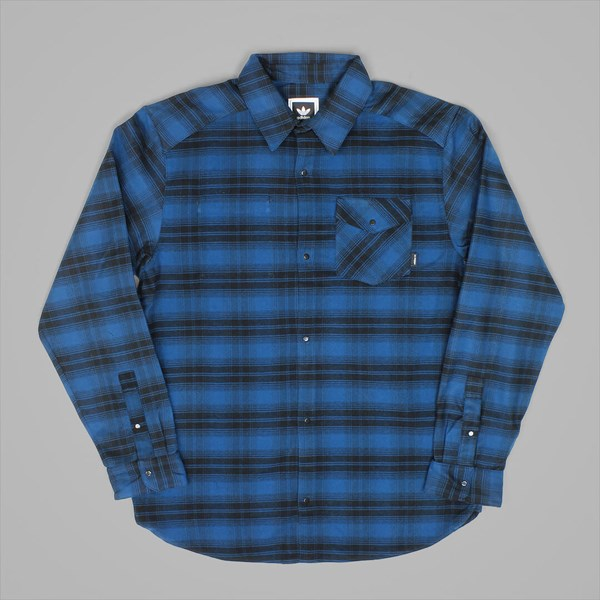 ADIDAS STRETCH FLANNEL BLUE NIGHT BLACK