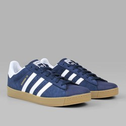 ADIDAS SUPERSTAR VULC ADV COLLEGIATE NAVY WHITE GUM