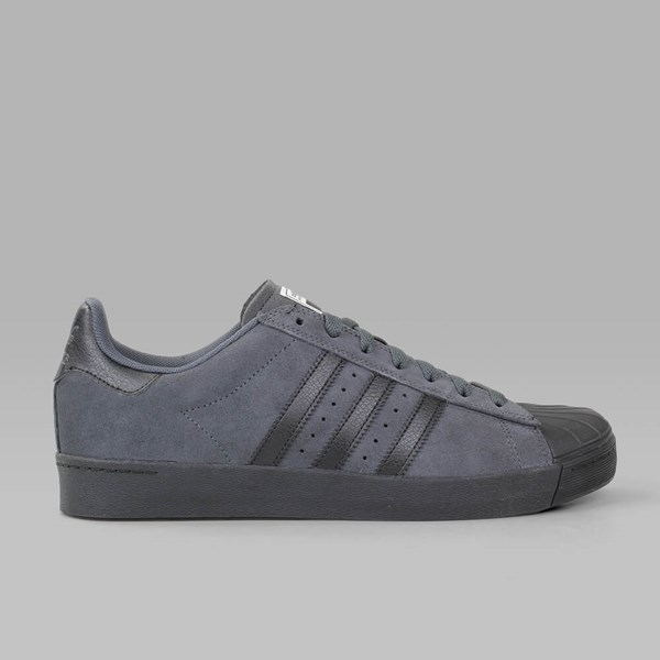 ADIDAS SUPERSTAR VULC ADV SOLID GREY CORE BLACK