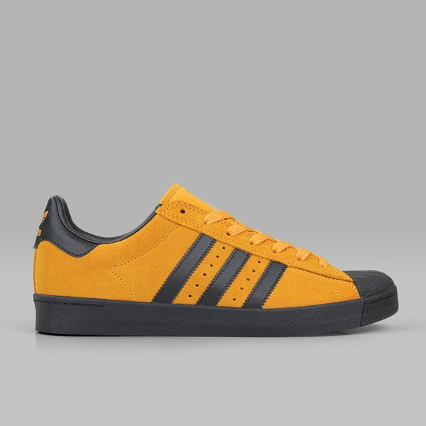 100% authentic 0c557 bfd3a ADIDAS SUPERSTAR VULC ADV TACTILE YELLOW BLACK