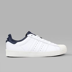 ADIDAS SUPERSTAR VULC ADV WHITE WHITE NAVY