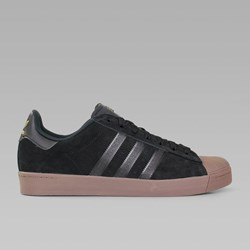 ADIDAS SUPERSTAR VULC CORE BLACK GOLD GUM
