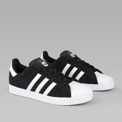 ADIDAS SUPERSTAR VULC CORE BLACK WHITE GOLD