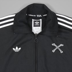 ADIDAS X BONETHROWER JACKET BLACK WHITE