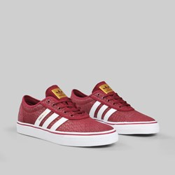 ADIDAS X DAEWON ADI EASE COLLEGIATE BURGUNDY WHITE GOLD