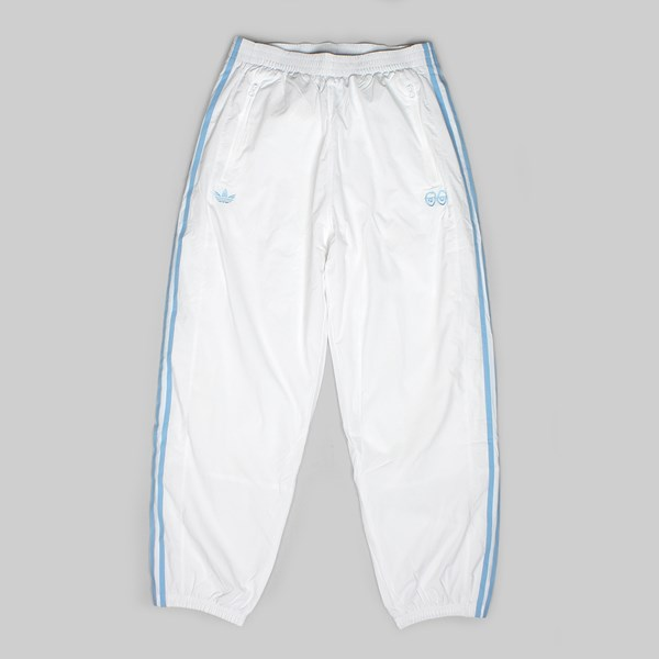 ADIDAS X KROOKED PANTS WHITE CLEAR BLUE