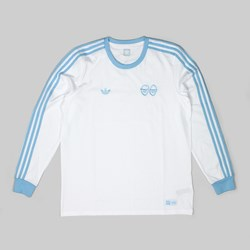 ADIDAS X KROOKED T-SHIRT WHITE CLEAR BLUE