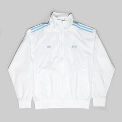 ADIDAS X KROOKED TRACK JACKET WHITE CLEAR BLUE