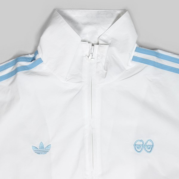 ADIDAS X KROOKED TOP WHITE CLEAR BLUE | Adidas Skateboarding