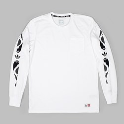 ADIDAS X MHAK LONG SLEEVE T-SHIRT WHITE