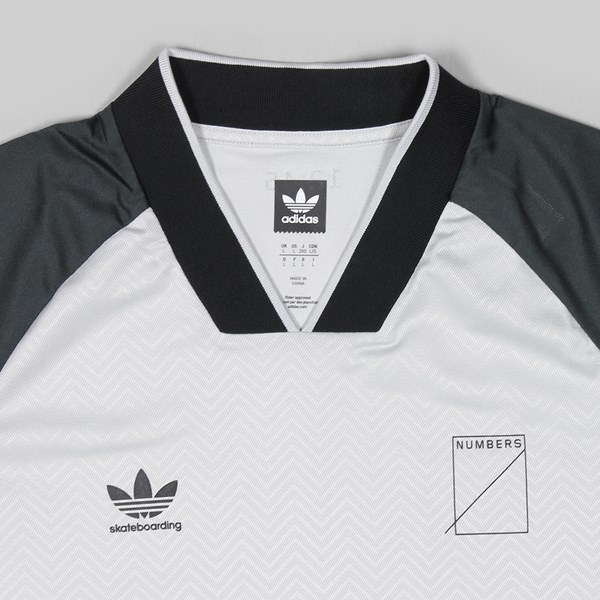 ADIDAS X NUMBERS JERSEY BLACK GREY ONE CARBON