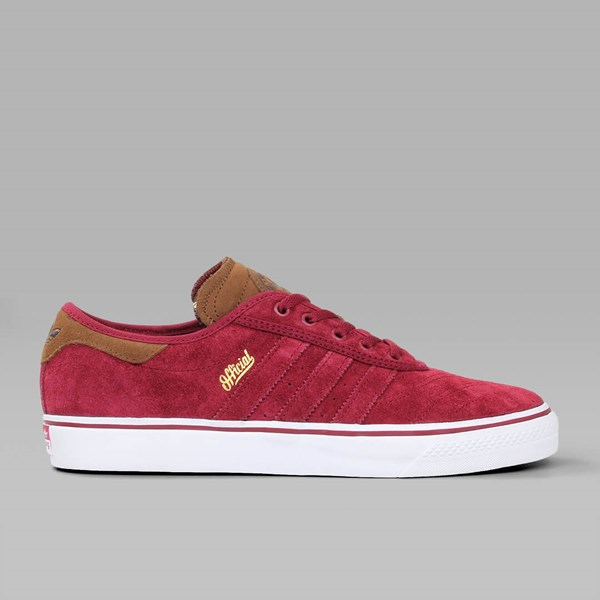 ADIDAS X OFFICIAL ADI EASE PREMIER BURGUNDY BARK WHITE