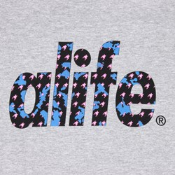 ALIFE COMRADE TEE HEATHER GREY
