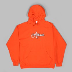 ALLTIMER CURSIVE HOODY ORANGE
