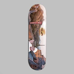 ALLTIMERS CONFUSING TOURISM 'GREAT WALL' DECK 8.25""