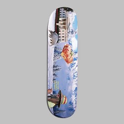 ALLTIMERS CONFUSING TOURISM 'SNOW' DECK 8.5""