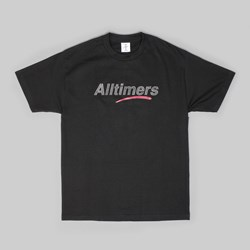 ALLTIMERS ESTATE SS T-SHIRT GLITTER INK BLACK
