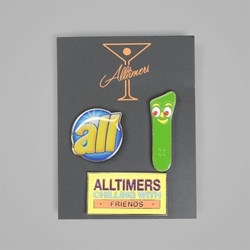 ALLTIMERS GUMBY PIN SET