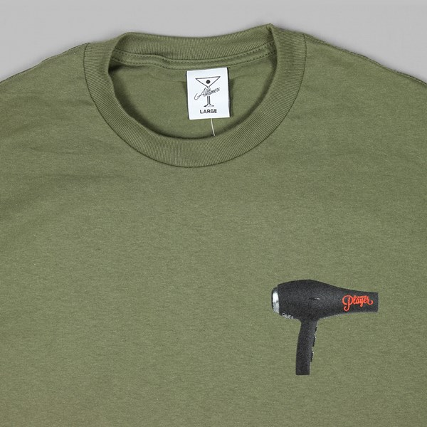 ALLTIMERS MELT SS T-SHIRT MILITARY GREEN